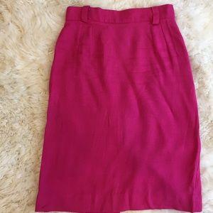 Hot Pink Midi Skirt 💕💄🎀